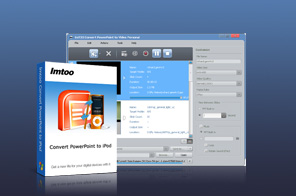 ImTOO Convert PowerPoint to iPod