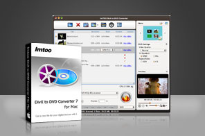 ImTOO DivX to DVD Converter for Mac