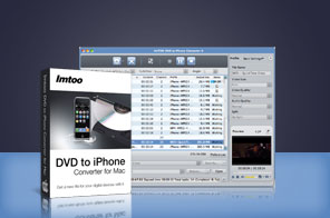 ImTOO DVD to iPhone Converter for Mac