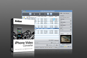 ImTOO iPhone Video Converter for Mac