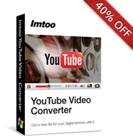 40% OFF for YouTube Video Converter