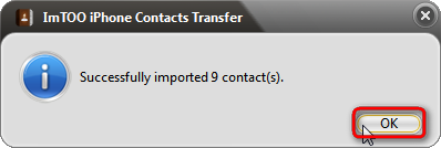 Successfully transfer gmail contacts to iPhone
