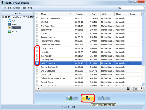 how to i add itunes music to my laptop video