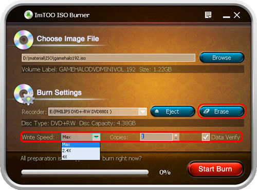 To Windows 10 Free Latest Version ImTOO ISO Burner Ylj