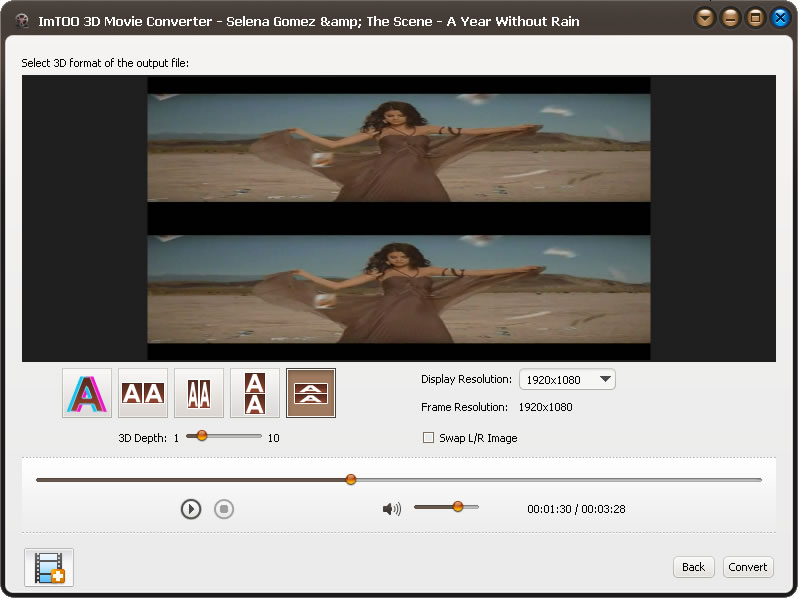 2d to 3d movie converter software free download